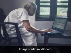 Kerala Grandmother, Learning To Use A Laptop At 90, Impresses Netizens
