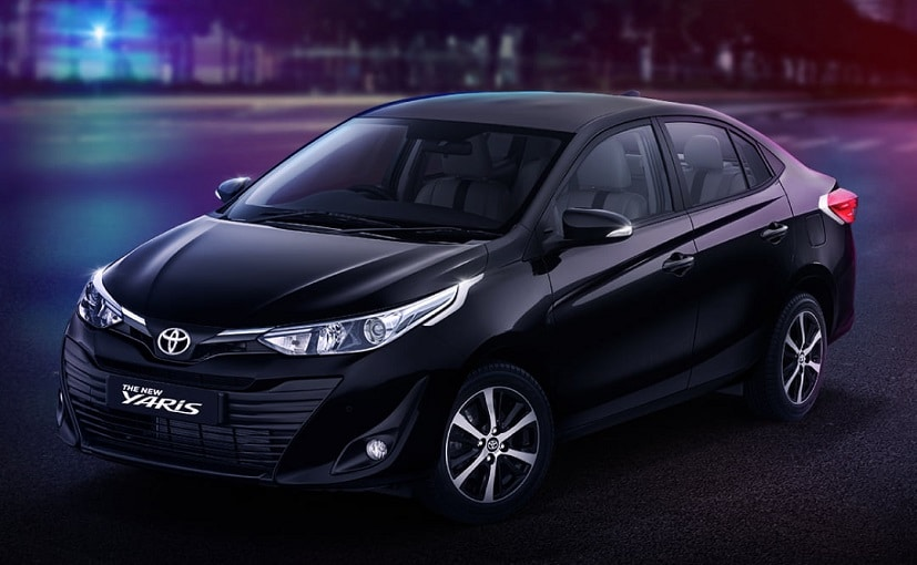 The new Toyota Yaris limited edition Black will go on sale in India this festive season