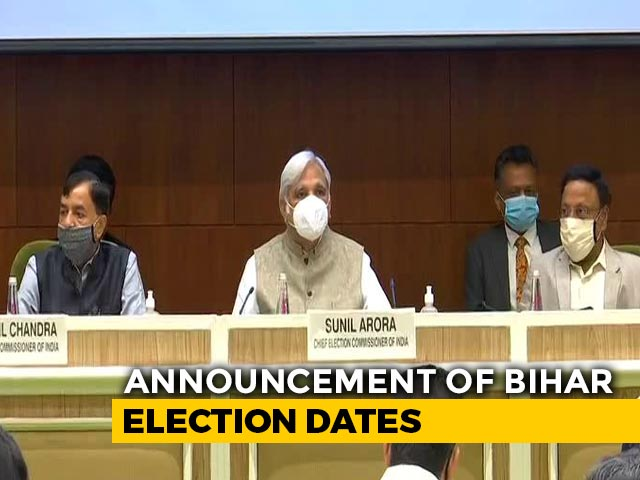 Video: Election Commission Announces Bihar Poll Dates