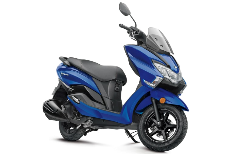 Suzuki Burgman Street is now available in five different colour options