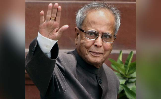 Pranab Mukherjee's Daughter To Decide Whether To Publish His Diaries
