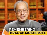 Video : Remembering Former President Pranab Mukherjee