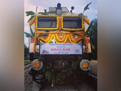 Kisan Rail Flagged Off From Andhra Pradesh To Delhi With Fresh Fruits