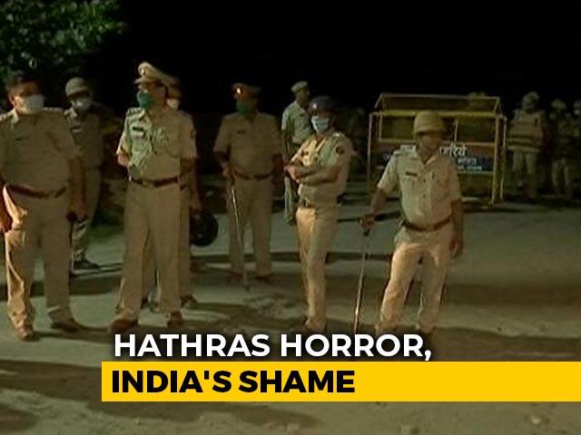 Video : Outrage Over UP Cops' Shocker In Hathras Gang-Rape Tragedy