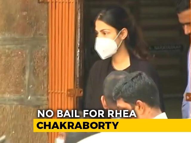 Video : Rhea Chakraborty Moved To Women's Jail In Mumbai