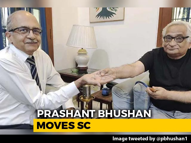 Video : After Paying Fine, Prashant Bhushan Seeks Top Court Review Of Conviction
