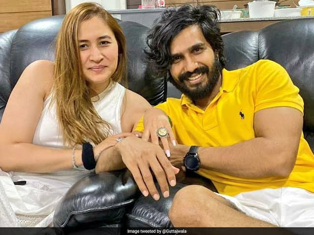 Badminton Star Jwala Gutta Gets Engaged To Actor Vishnu Vishal