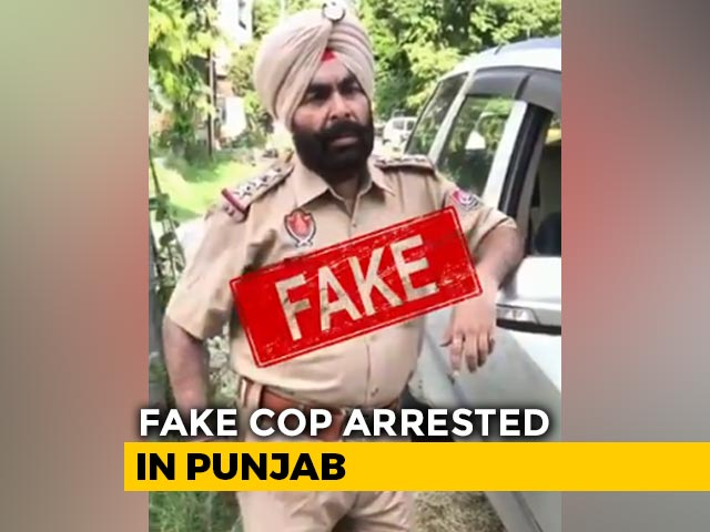 Video : Man Arrested For Posing As Punjab Cop, Promoting Alcohol As COVID-19 Cure