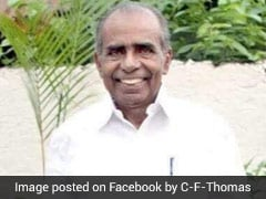 Senior Kerala Congress Leader CF Thomas Dies At 81