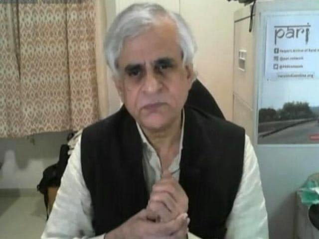 """Video : P Sainath Sugests A Farm Bill """"That Will Unanimously Passed By Parliament"""