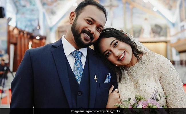 Pics From Actress Miya George And Ashwin Philip's Dreamy Wedding