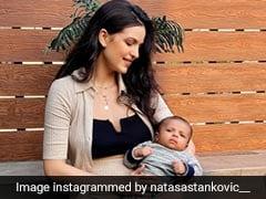 Hardik Pandya, Natasa Stankovic's Son Turns Two Months Old, Couple Celebrates. See Pics