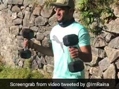 "Suresh Raina Enjoys ""Beautiful Weather"" And ""Outdoor Workout"" In Jammu And Kashmir"