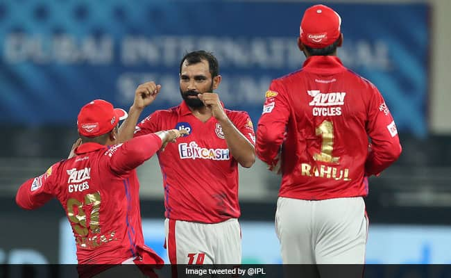 IPL 2020 DC Vs KXIP WATCH Mohammed Shami dual blows to Delhi Capitals