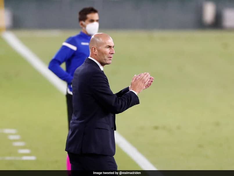 Zinedine Zidane Completes 100 La Liga Wins As Real Madrid Manager