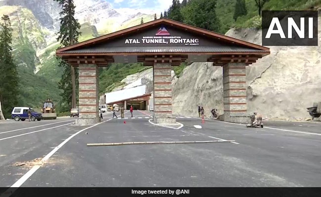 World's Longest Highway Tunnel Above 10,000 Feet Ready After 10 Years - NDTV