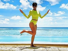 New Pics From Mandira Bedi's Maldives Vacation Are Burning Up Instagram