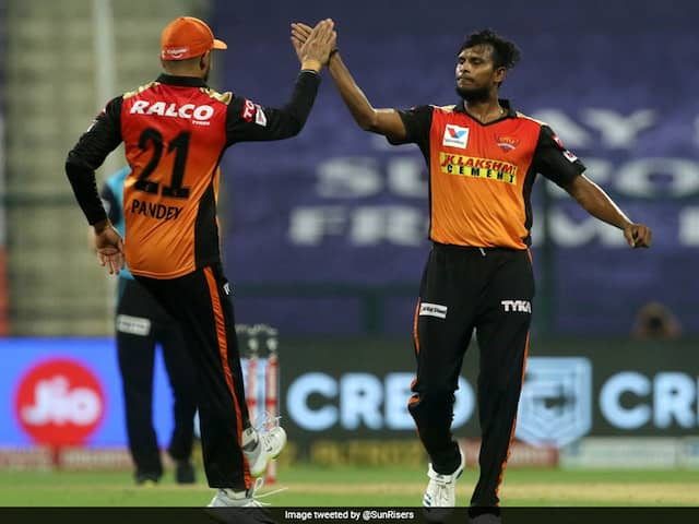 IPL 2020, DC vs SRH: Virender Sehwag Pleased With T Natarajans Execution Of Yorkers