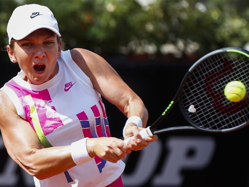Halep beats Yastremska to reach Italian Open quarters