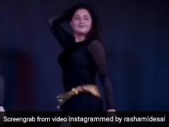 Rashami Desai ने ब्लैक ड्रेस में किया नोरा फतेही के 'दिलबर' पर धमाकेदार बेली डांस, खूब धूम मचा रहा है Video