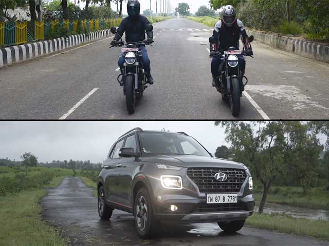 Videos : Raftaar Rebooted Episode 12 | Husqvarna 250cc Twins & Hyundai Venue Review In Hindi