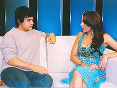 "Just A Throwback Pic Of ""Happy Souls"" Aamir Khan And Pooja Bedi"