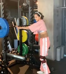 Disha Celebrated This Instagram Milestone By Lifting 60 Kgs. Beat That