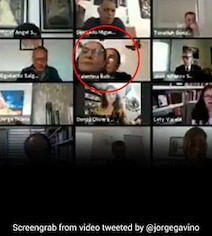 Watch: Politician Sneaks Out Of Zoom Meeting After Placing Pic On Camera