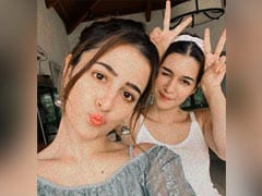 More Pics From Kriti Sanon And Sister Nupur's Vacation