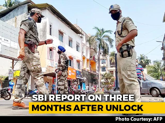Video : Partial Lockdown In Some States Didn't Lower COVID-19 Cases: SBI Report