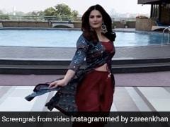 Zareen Khan ने Guru Randhawa के गाने पर यूं की कैट वॉक, एक्ट्रेस के स्टाइल ने बटोरी सुर्खियां- देखें Video