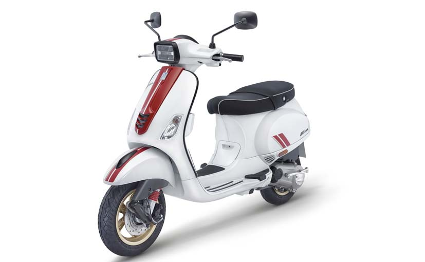 The Vespa Racing Sixties edition is available for booking at dealerships as well as online