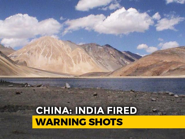 Video : Indian Soldiers Fired Warning Shots At Pangong Bank In Ladakh, Claims China