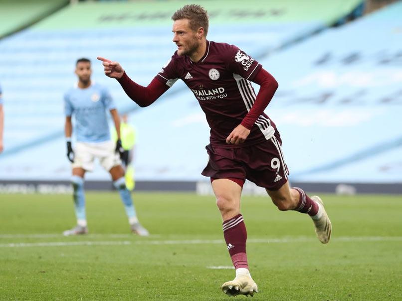 Vardy Treble Stuns Manchester City As Leicester Run Riot