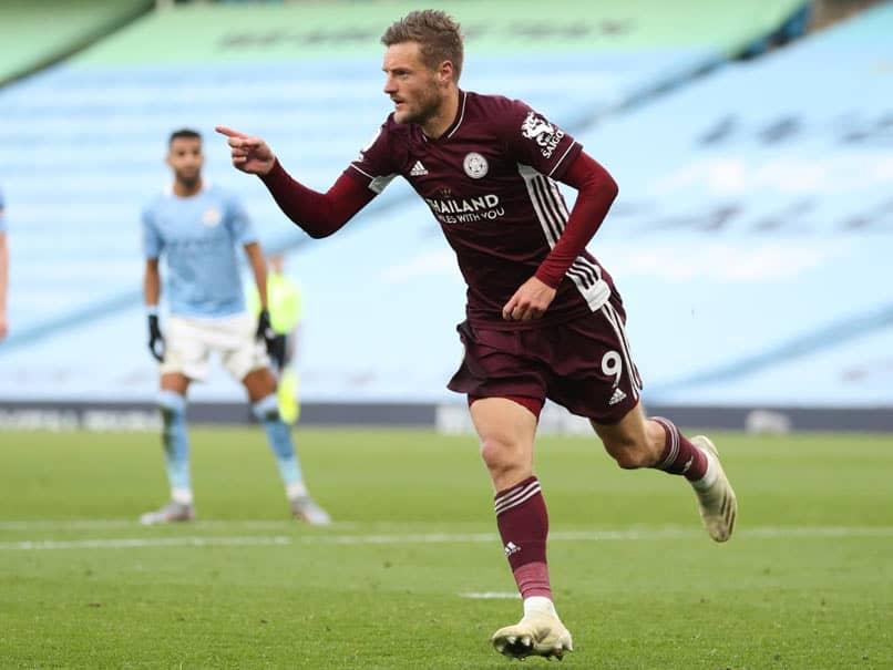 Premier League: Jamie Vardy Treble Stuns Manchester City As Leicester City Run Riot