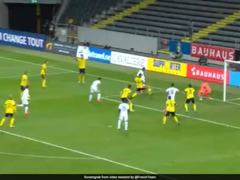 France Hail Kylian Mbappes Great Goal In UEFA Nations League Win Over Sweden. Watch