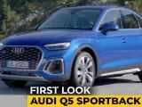 Video : Audi Q5 Sportback: First Look
