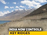 Video : India Now In Control Of South Pangong After Chinese Build-Up: Sources