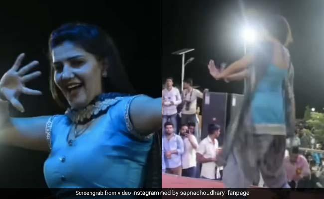 Sapna Choudhary ने 'तेरी आंख्या का यो काजल' पर किया धमाकेदार डांस, देसी क्वीन के Video ने मचाया धमाल