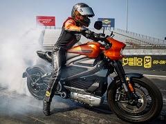 Harley-Davidson LiveWire Creates New World Records At EV Racing Exhibition