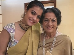 On Mom Tanuja's Birthday, Kajol And Tanishaa's Wishes Came Gift-Wrapped Like This