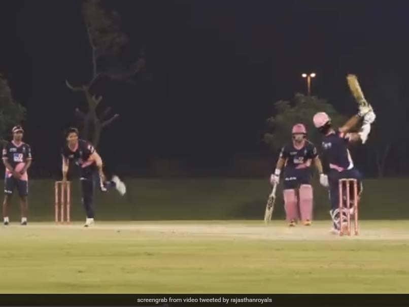 IPL 2020: Team Robin Uthappa Beats Team Sanju Samson In Thrilling Rajasthan Royals Intra-Squad Match By 2 Runs. Watch