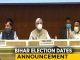 Video : Election Commission Announces Bihar Poll Dates