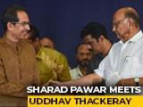 Video : Kangana Ranaut Row Backfires On Sena? Sharad Pawar Meets Uddhav Thackeray