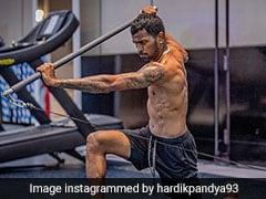 Indian Premier League: Hardik Pandya Indulges In Intense Gym Workout