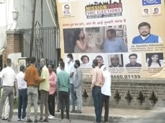 Ramdas Athawale, Kangana Ranaut Posters Seen Ahead Of Local Body Polls In Gujarat