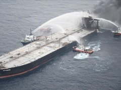 Fire-Hit Indian Oil-Chartered Tanker Owner To Pay $1.8 Million To Sri Lanka