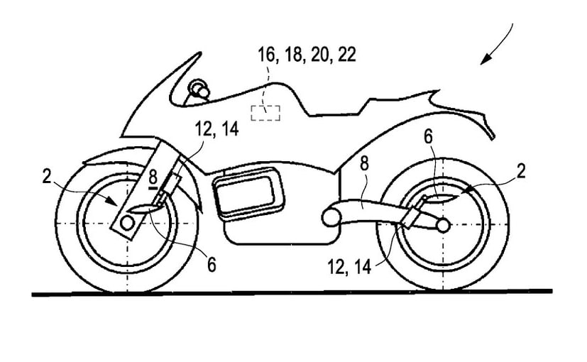 BMW patents reveal active aerodynamic winglets for future motorcycles