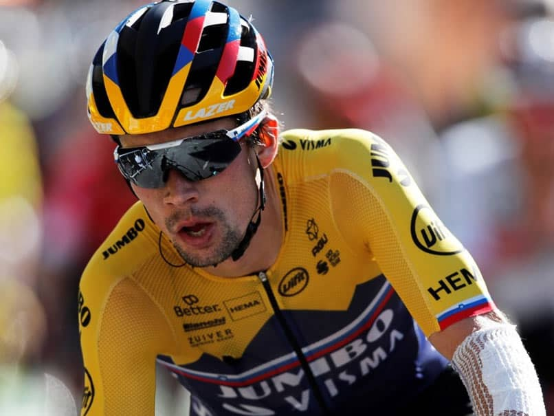 Tour de France: Primoz Roglic Wins Fourth Stage, Julian Alaphilippe Retains Yellow Jersey
