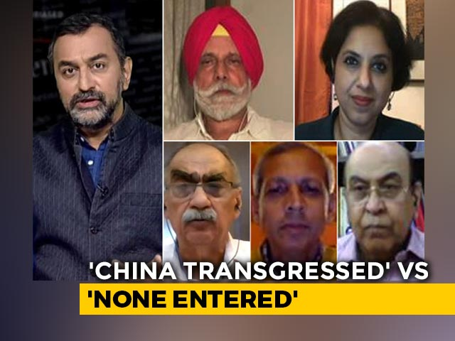 Video : China Stand-Off: Centre's 'Triplespeak'